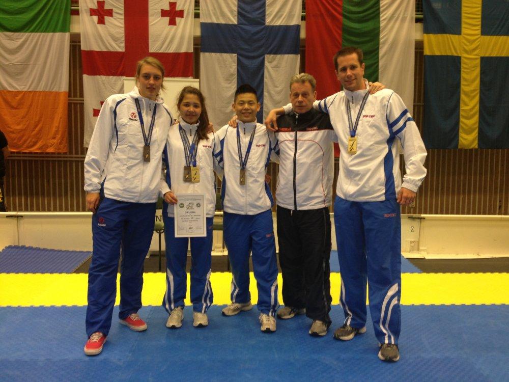 Medaille winnaars Koguryo